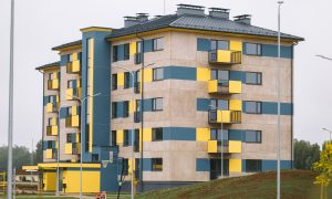 Nominācija Ilgtspējīgā ēka - 3.vieta Valmieras īres nami.