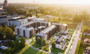 Nominācija Ilgtspējīgākais projekts - 3.vieta, modernā dzīvojamā apbūve Lindenholma.
