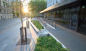 Nominācija Ilgtspējīgākā Publiskā ārtelpa - 3.vieta AC Hotel by Marriot Riga skvērs.
