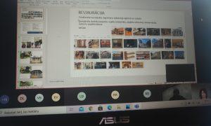 2021.gada 26.martā O.Kalpaka Rīgas Tautas daiļamatu pamatskolā notika online lekcija 74 skolniekiem, par arhitekta specialitāti stāstīja Rūdis Rubenis, par restauratoru ikdienu - Juris Pavlovs.