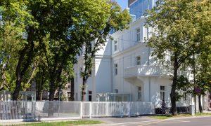 Restaurācija. Hanzas Biroji Hanzas iela 2A, Rīga. Pasūtītājs HANZAS REZIDENCE, projekts SARMA&NORDE Arhitekti, būvnieks PS LNK INDUSTRIES GROUP.