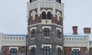 Restaurācija. Siguldas Jaunās pils ēkas pārbūve un restaurācija, Pils iela 16. Pasūtītājs Siguldas novada pašvaldība, projekts Arhitektes Ināras Caunītes birojs, būvnieks RERE BŪVE 1, būvuzraudzība Firma L4.