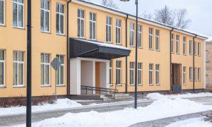 Fasāžu atjaunošana. Latvijas Nacionālais arhīvs, Komandanta iela 9, Daugavpils. Pasūtītājs VNĪ. Projekts Jānis Rapša, būvnieks Būvuzņēmums Restaurators, būvuzraudzība BUILDER INDUSTRY.