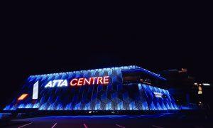 Fasāžu atjaunošana. Konferenču centrs ATTA , Krasta iela 60,Rīga. Pasūtītājs Morient IG, projekts ARHITEKTES Lienes Griezītes Studija, būvnieks BEND IT, būvuzraudzība BMK Plus.