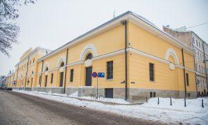 Fasāžu atjaunošana. Izstāžu zāle Arsenāls, Torņa iela 1, Rīga. Pasūtītājs, būvuzraudzība VNĪ, projekts AD SPATIUM, būvnieks RERE MEISTARI 1.