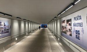 Inženierbūve jaunbūve. Gājēju tunelis zem dzelzceļa Ogrē. Pasūtītājs un būvuzraudzība Latvijas dzelzceļš, projekts Vektors T, būvnieks p/s BMGS – Viadukts.