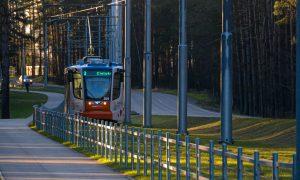 Inženierbūve jaunbūve. Jaunas tramvaja līnijas būvniecība Daugavpilī. Pasūtītājs Daugavpils satiksme, projekts REM PRO, būvuzraudzība Dzelzceļa inženieri.