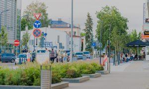 Inženierbūve pārbūve. Rīgas ielas pārbūve Daugavpilī. Pasūtītājs Daugavpils domes iestāde Komunālās saimniecības pārvalde, projekts SKA projekts, būvnieks Labiekārtošana – D , būvuzraudzība RoadLat.