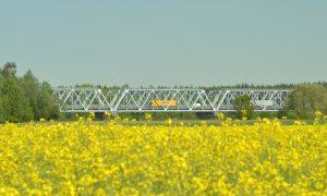 Inženierbūve pārbūve. Tilta atjaunošana uz Daugavpils apvedceļa. Pasūtītājs VAS LVC, projekts Kurbada tilti, būvnieks Rīgas tilti, būvuzraudzība Ingway.