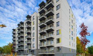 Jauna dzīvojamā ēka. Daudzdzīvokļu ēka Upeņu iela 21, Rīgā, Rīga. Pasūtītājs YIT LATVIJA, projekts RAPS Arhitekti, būvnieks YIT LATVIJA, būvuzraudzība Firma L4.