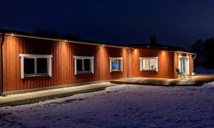 Koka būve. Dzīvojamā māja Ikšķiles novadā. Pasūtītājs privātpersona, projekts MI Design.