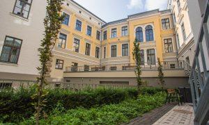 Pārbūve. Prokuratūras ēka, Aspazijas bulvāris 7, Rīga. Pasūtītājs VNĪ, projekts PS RE ARTA, būvnieks ABORA, būvuzraudzība VNĪ.