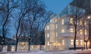Pārbūve. Hanzas Biroji Hanzas iela 2A, Rīga. Pasūtītājs HANZAS REZIDENCE, projekts SARMA&NORDE Arhitekti, būvnieks PS LNK INDUSTRIES GROUP.