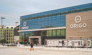 """Pārbūve. Tirdzniecības centra """"ORIGO"""" ēkas """"A"""" pārbūve Stacijas laukums 4, Rīga. Pasūtītājs LINSTOW, projekts PS ARCADE, būvnieks SKONTO CONSTRUCTION, būvuzraudzība CMB."""