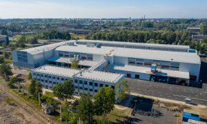 Ražotne – industriāla būve. Biroja ēkas un ražošanas ēkas pārbūve Liepājā, Brīvības ielā 142a. Pasūtītājs LSEZ Caljan, projekts A-Projekts, būvnieks Bukoteks, būvuzraudzība Būvniecības Konsultants.