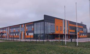 Ražotne – industriāla būve. Ražošanas ēkas Nr.7 būvniecība Ventspils augsto tehnoloģiju parkā. Pasūtītājs Ventspils brīvostas pārvalde, projekts Baltex Group, būvnieks AIMASA, būvuzraudzība Firma L4.