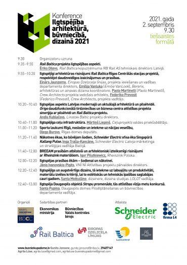 Ilgtspējībai veltītā konference 2021